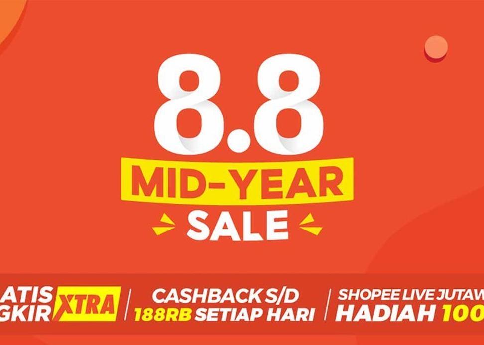 Belanja Aman Dan Nyaman Dengan Potongan 50 Off Bersama Shopee 8 8 Mid Year Sale Hari Ini Get Diskon Blog