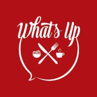 What's Up Cafe Logo