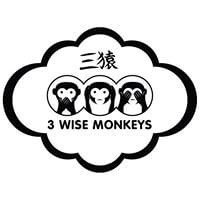 3 Wise Monkeys Logo