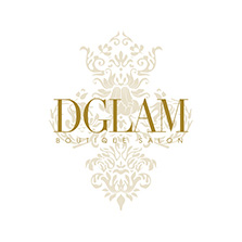 Dglam Boutique Salon Logo