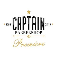 Captain Barbershop Premiere Logo