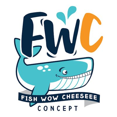 Fish Wow Cheese Logo