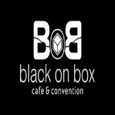 Black on Box Cafe Logo