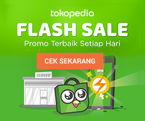 Tokopedia Flash Sale - 300x250