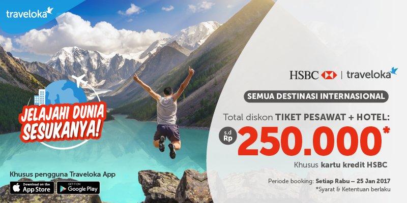 Traveloka Dapatkan Diskon hingga 250 000 di traveloka (