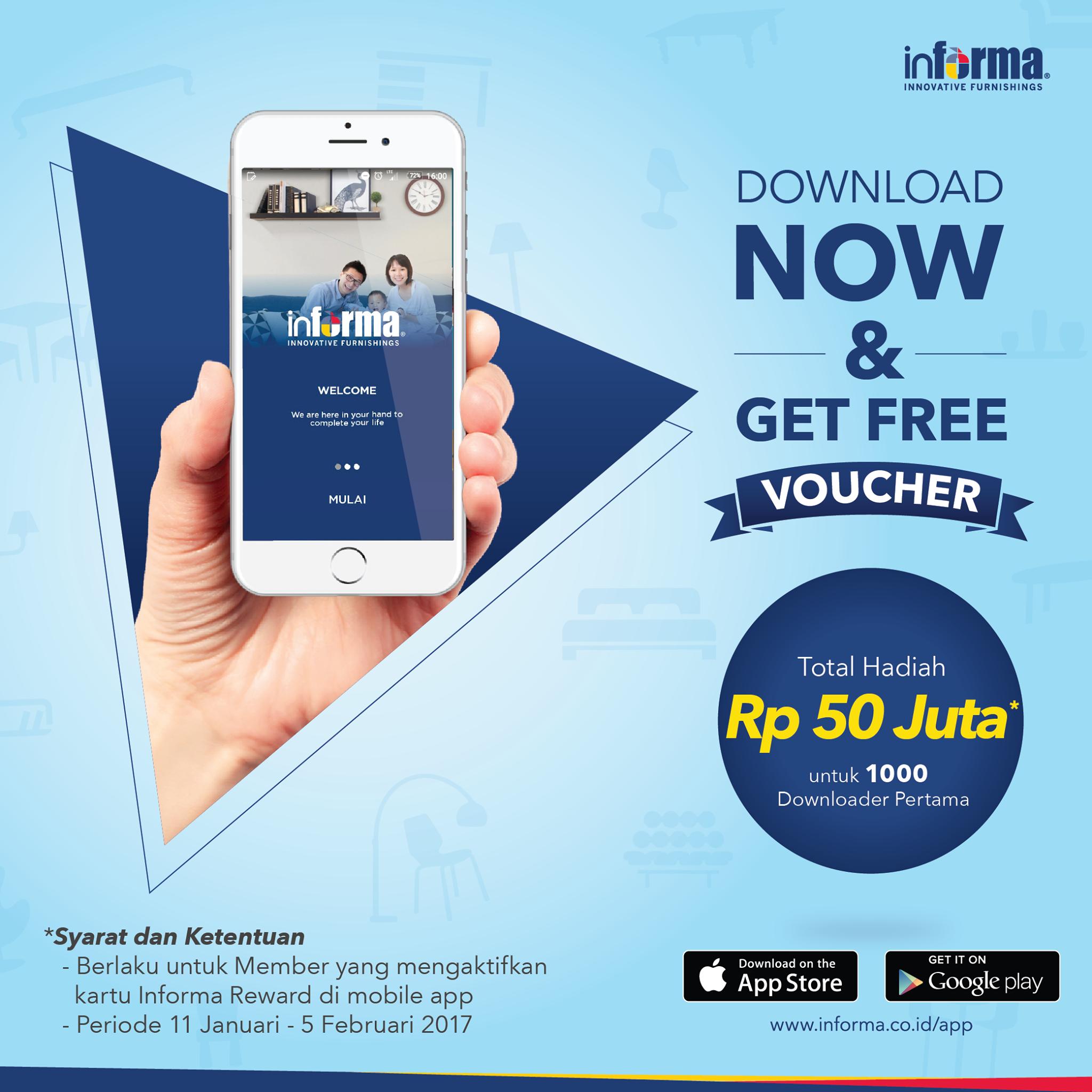Informa Download Get Free Voucher Rma