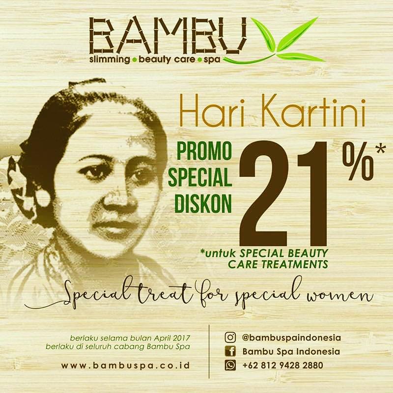 Bambu Spa Diskon 21%