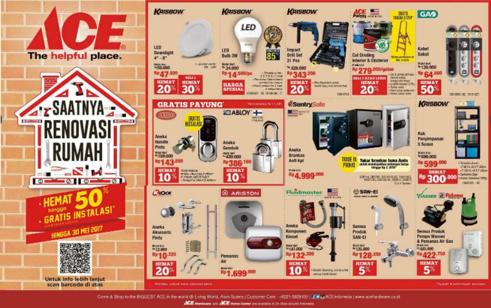 Katalog Ace Hardware 15 May 30 May