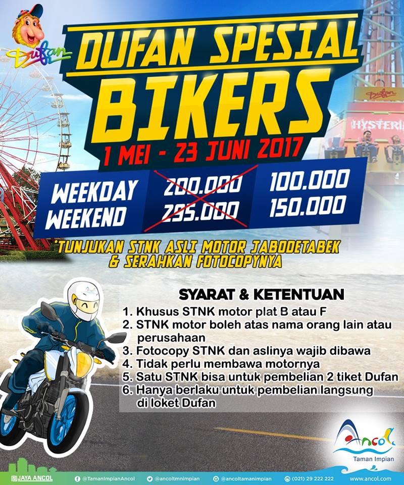 Dunia Fantasi Ancol Dufan Special Bikers
