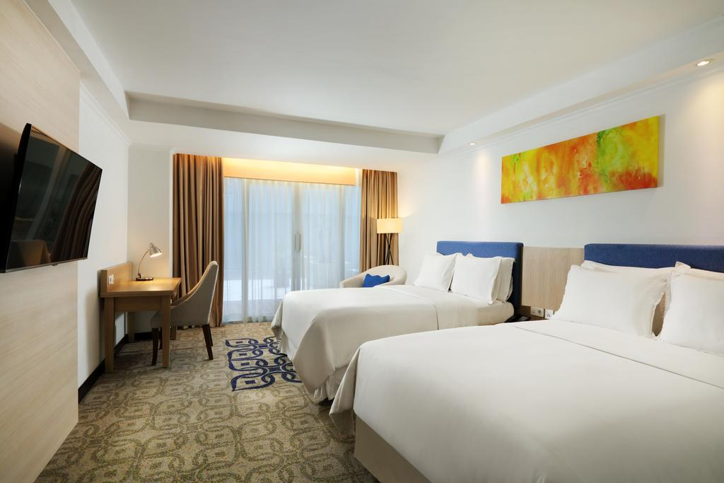 Four point diskon 20 for 20 room hotel design