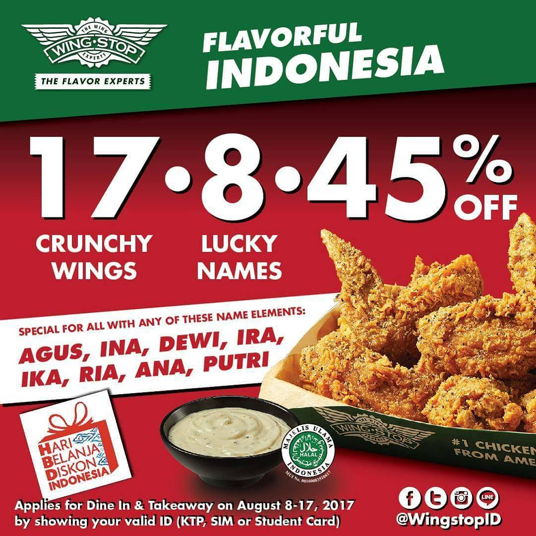 Wingstop Flavorful Indonesia