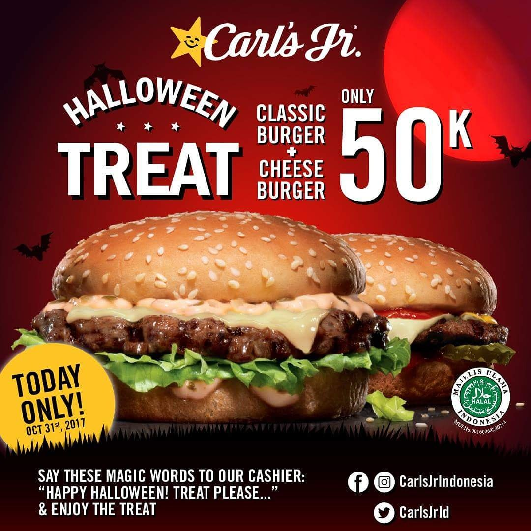 Burger King Halloween Treat Only 50k