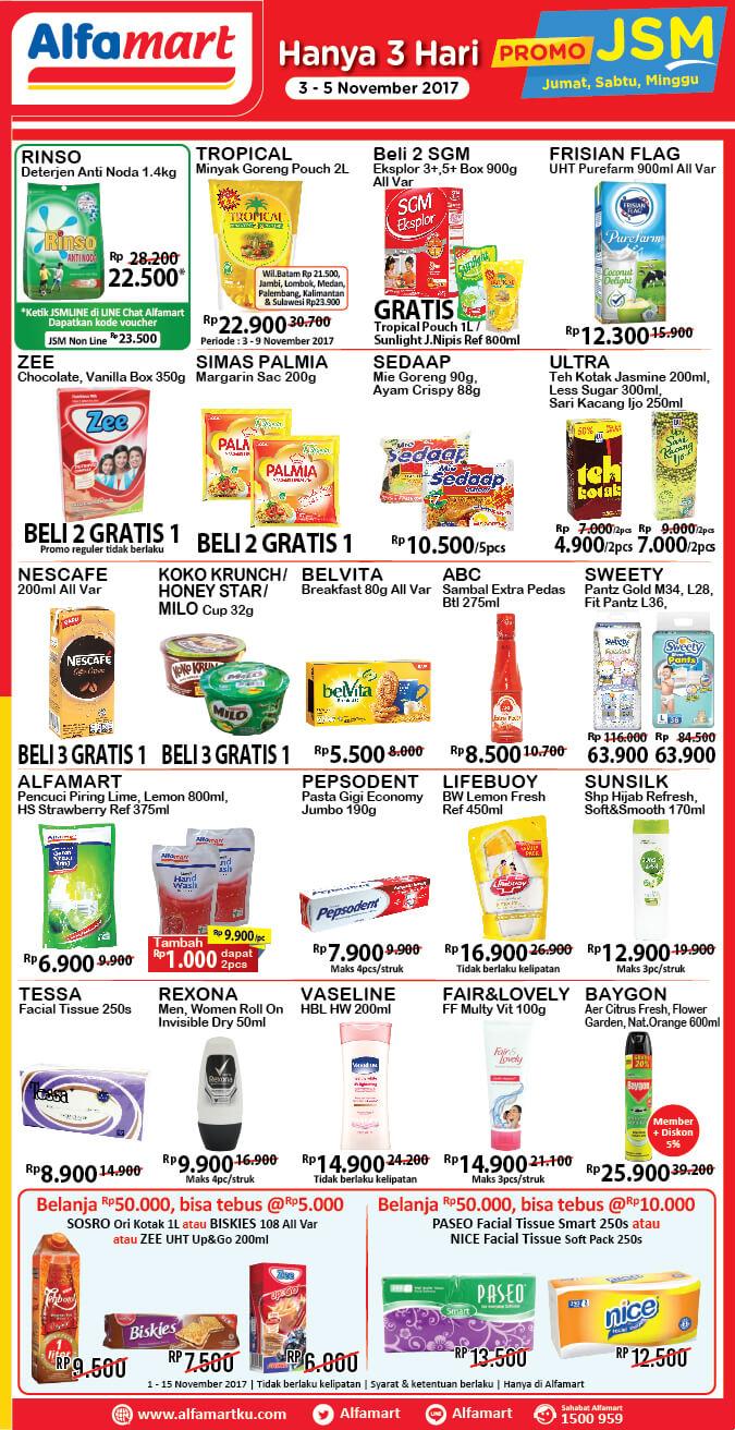Katalog Alfamart 3 Nov 5 Nov