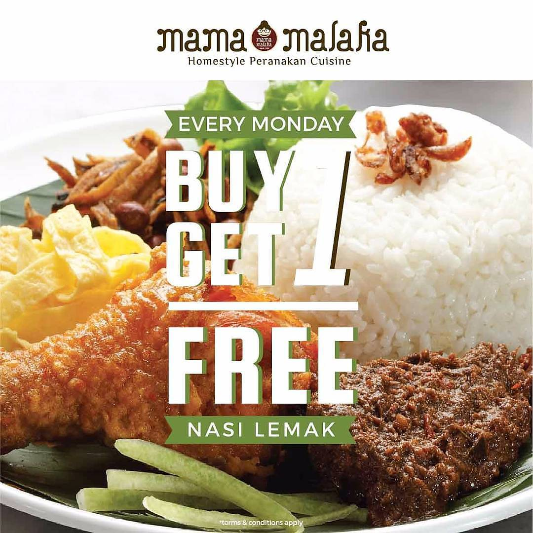 Buy 1 Get 1 Free Tiap Senin
