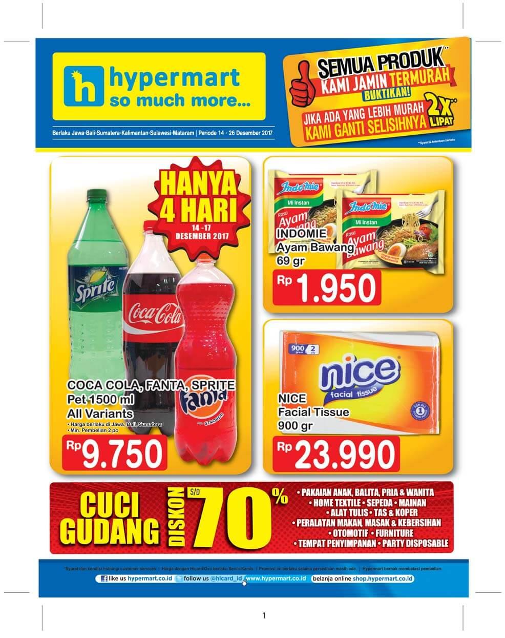 Katalog Hypermart 15 Dec 26 Voucher Belanja