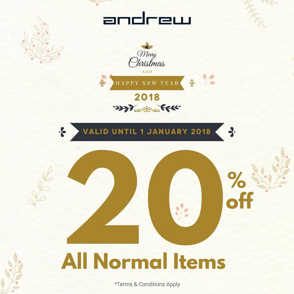 20% off All Normal Items