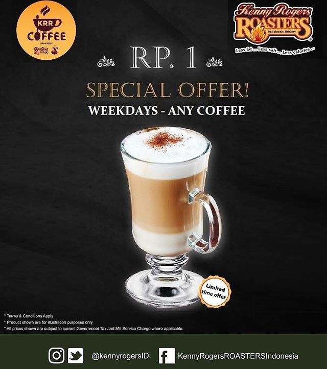 Special Offer Rp. 1