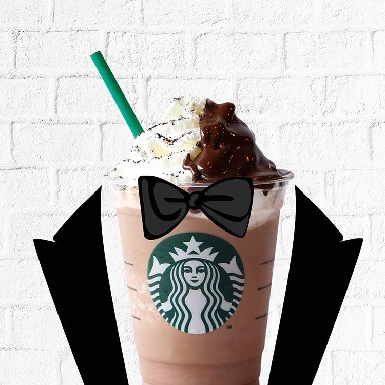 Tuxedo Frappucino only 25K with LINE