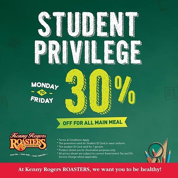 30% Off for Students