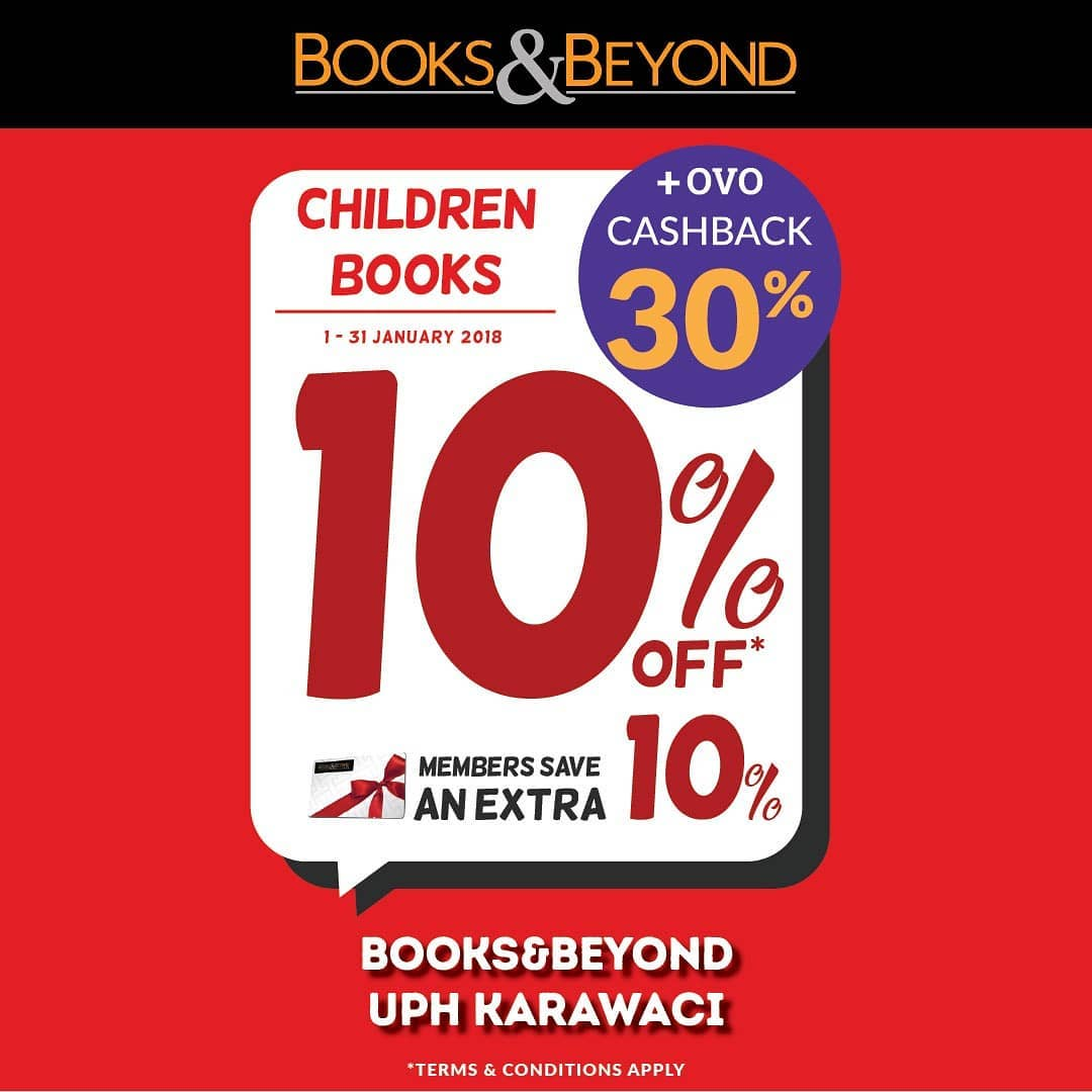 10% off For Children Books
