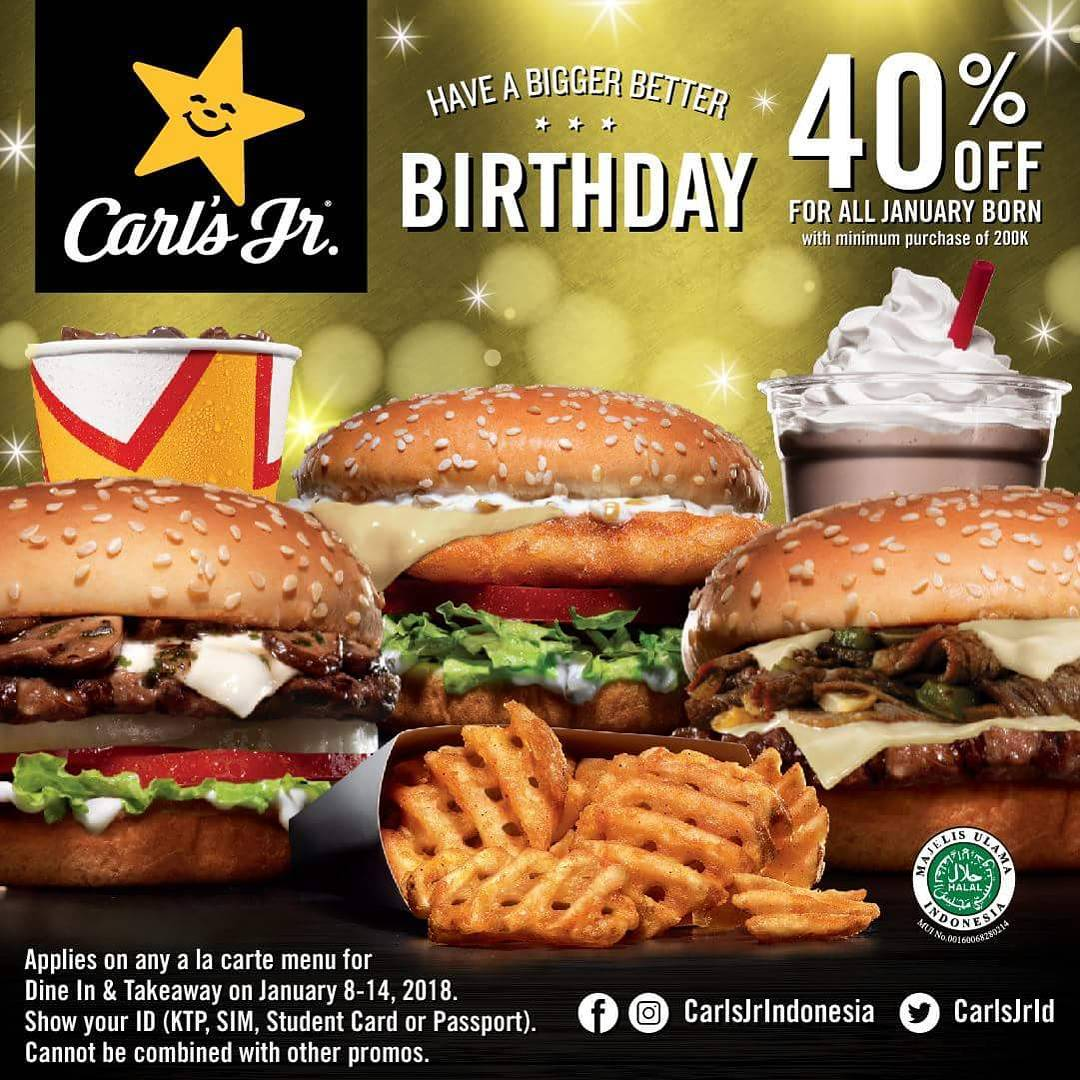 Carls jr coupons february 2019