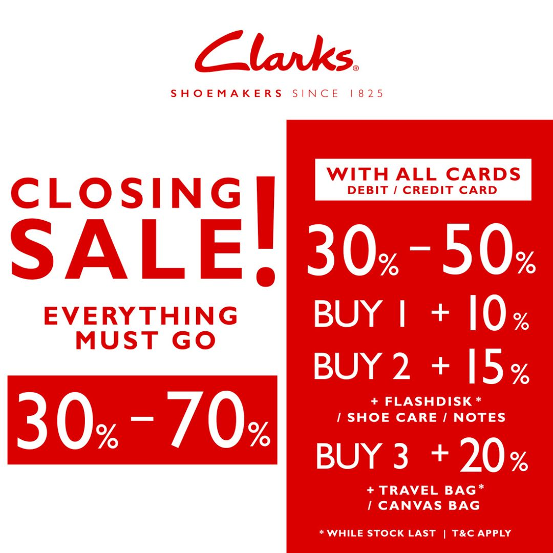 Closing Sale Up To 70%