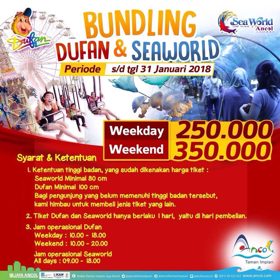 Taman Impian Jaya Ancol Promo Paket Bundling