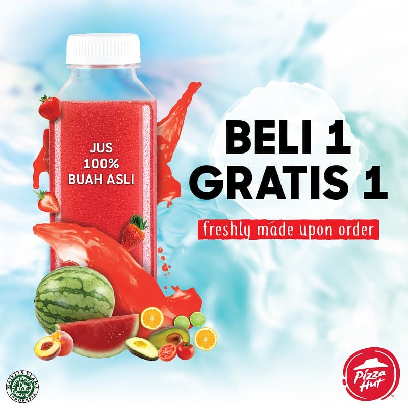 Beli 1 Gratis 1 Fruit Juice