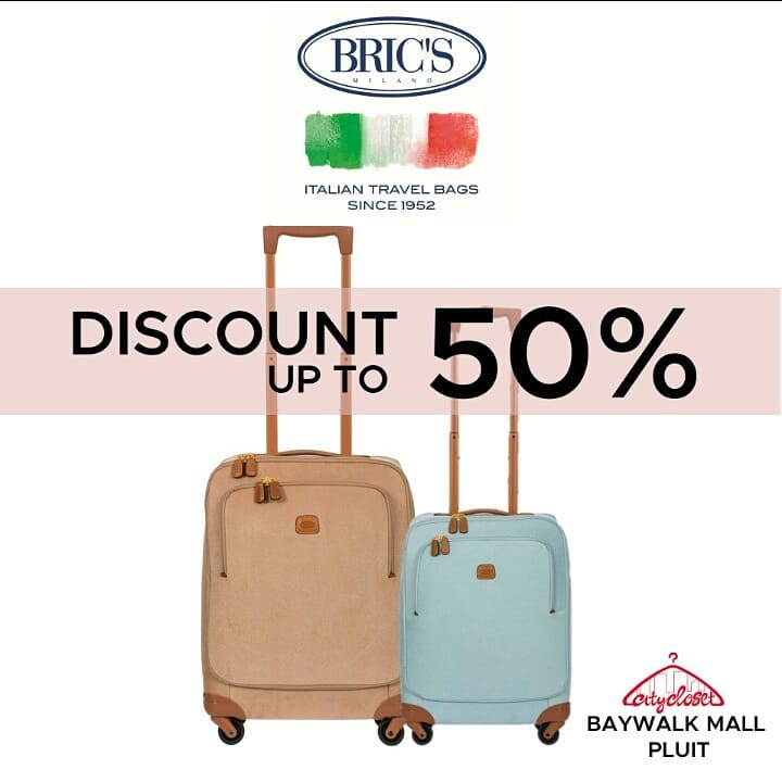 Up To 50% for Bric's