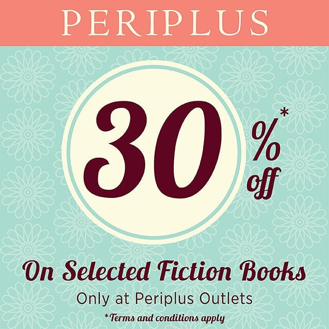 30% Off Selected Fiction Books