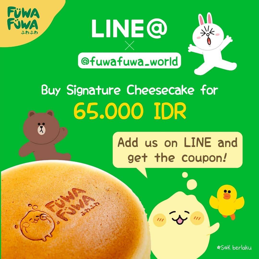 Special Price with LINE