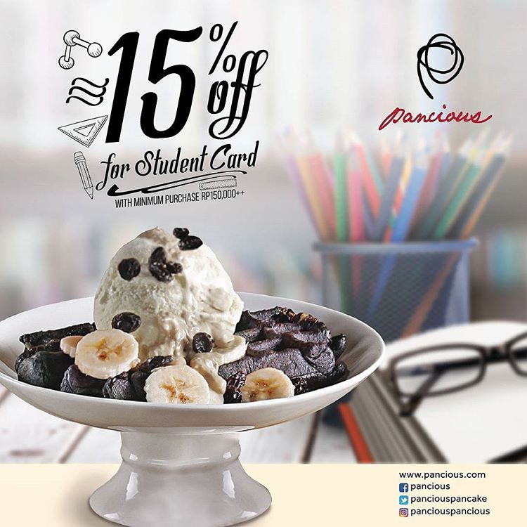 15% Off for Student