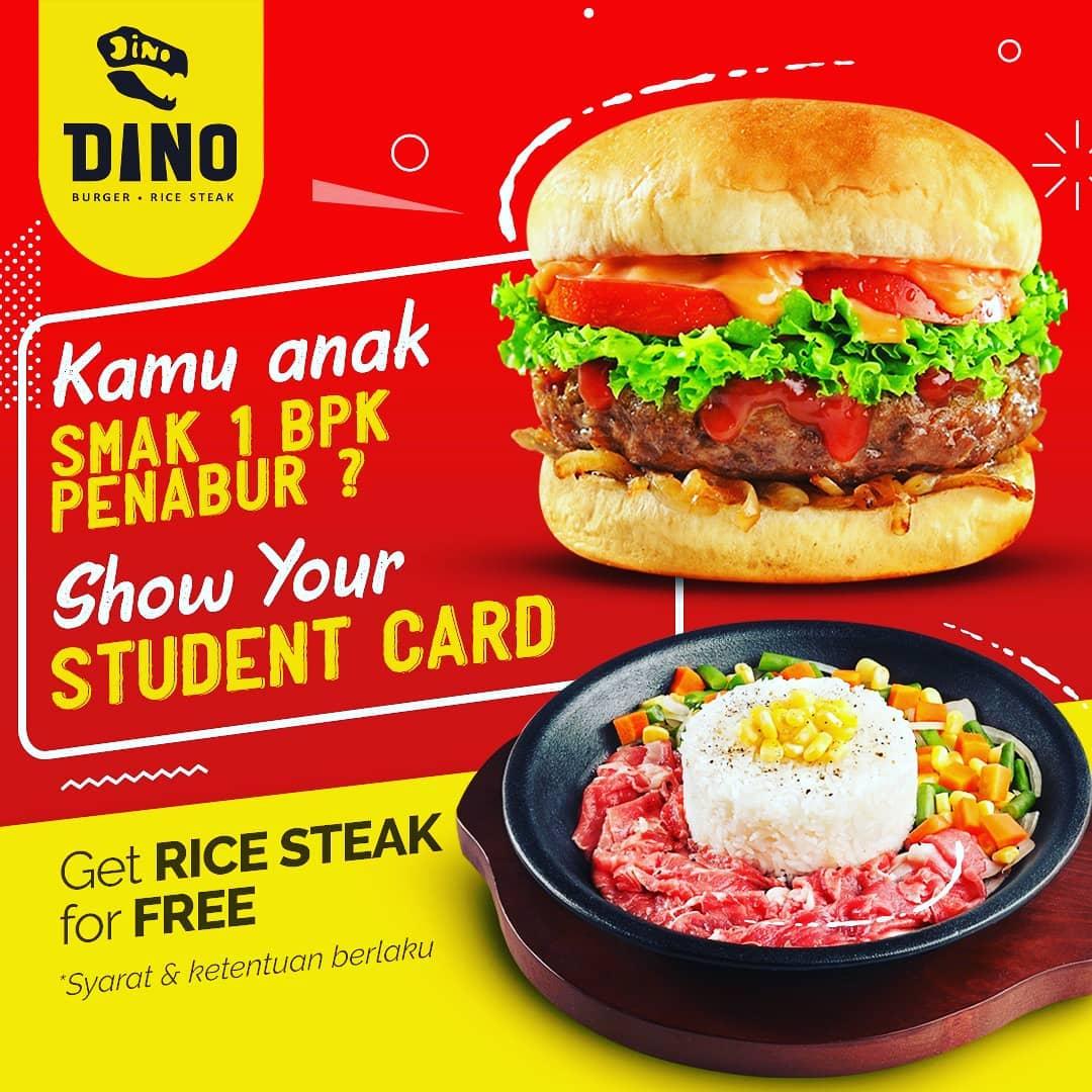 Buy 1 Get 1 FREE Rice Steak