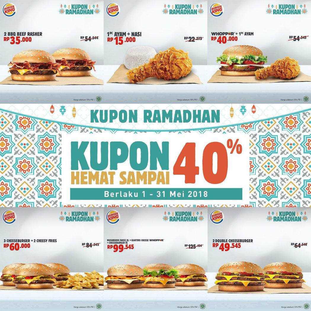 Gambar Promo Burger King - Gambar Kodok HD