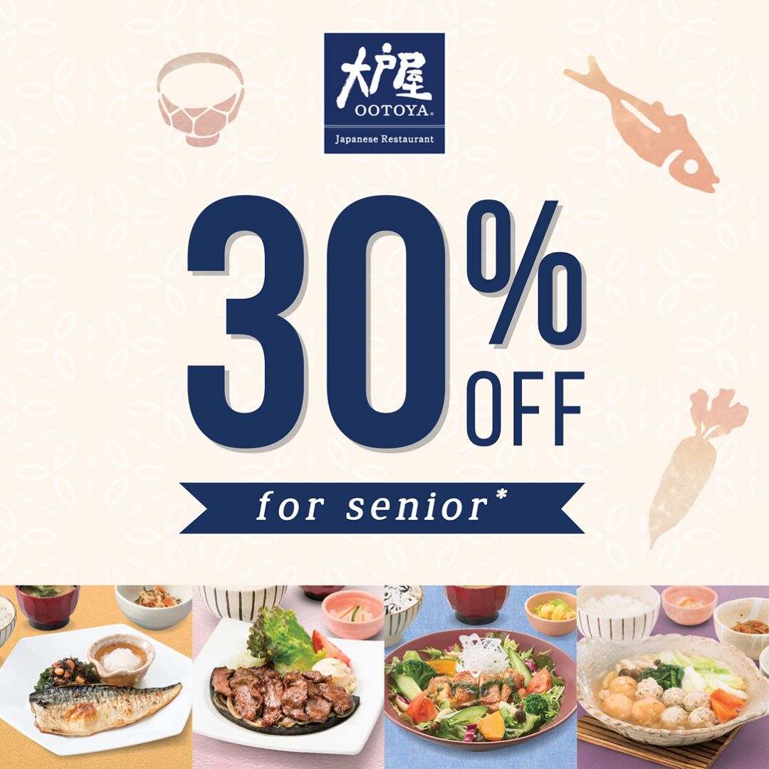 30% Off for Seniors