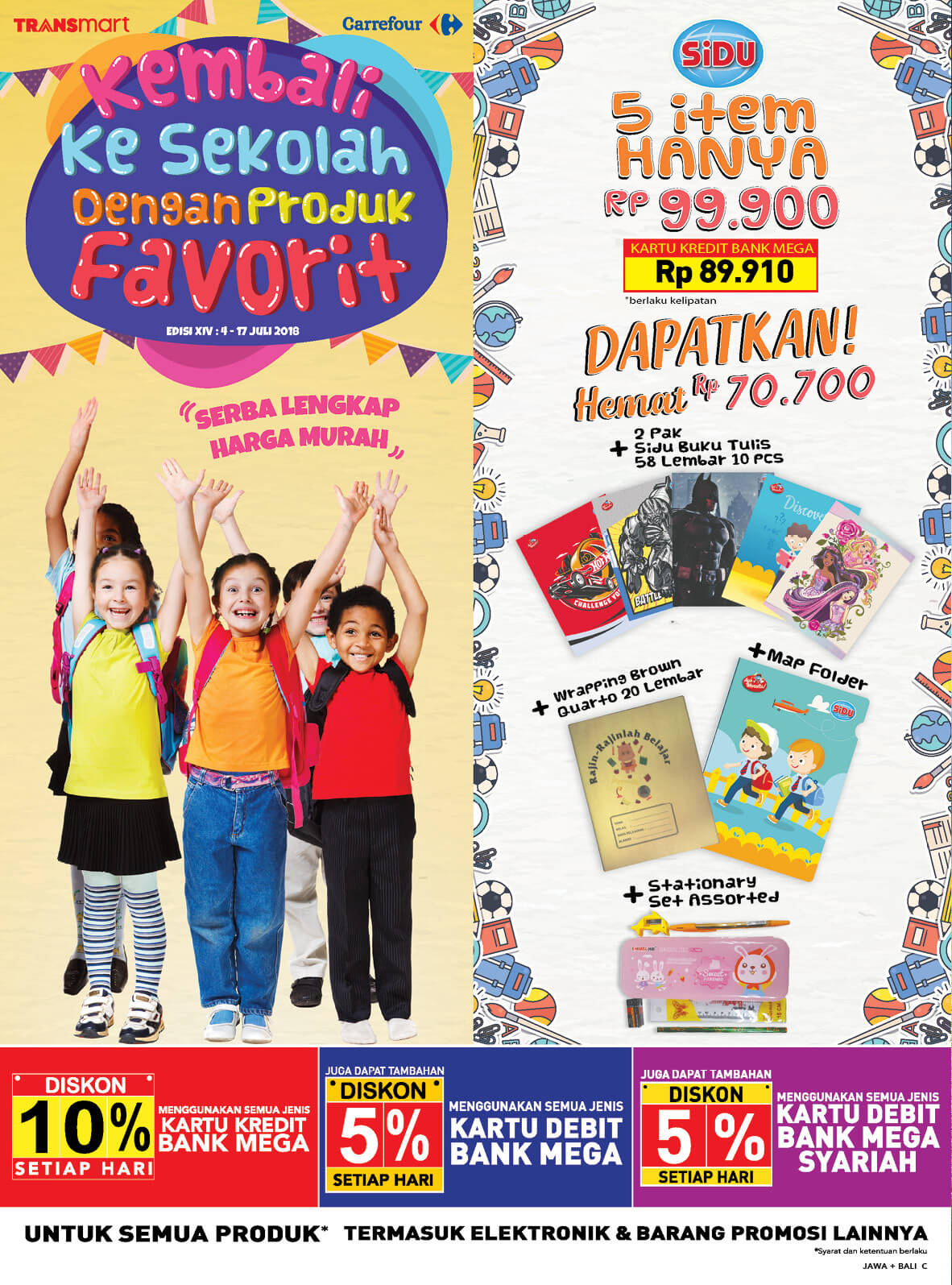 Katalog Carrefour 6 Jul 17 Voucher Carefur