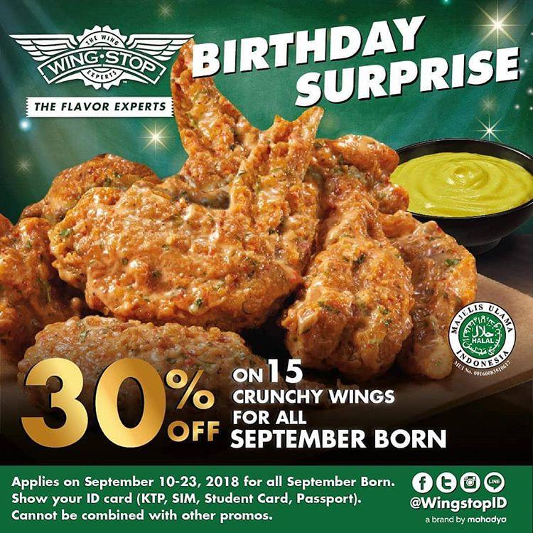 30% Off for September Born