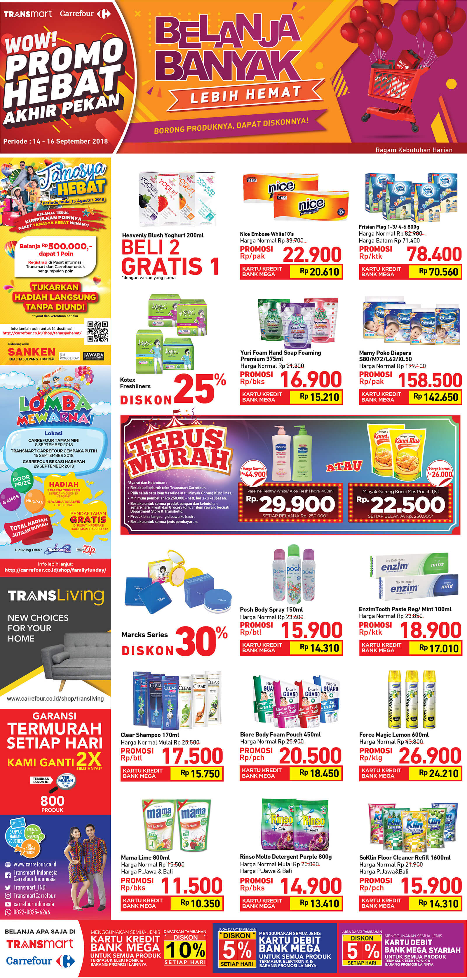 Katalog Carrefour 14 Sep 16 Voucher Carefur