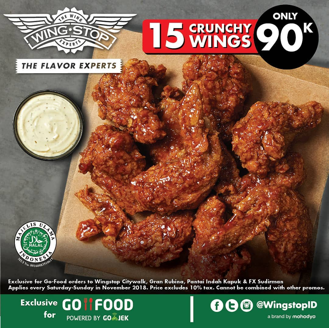 Wingstop Only Rp 90 000