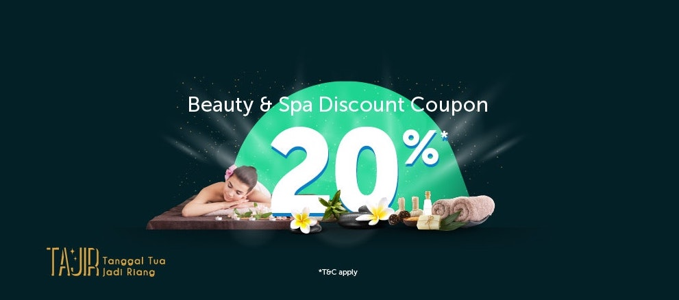 Beauty & Spa 20% Off