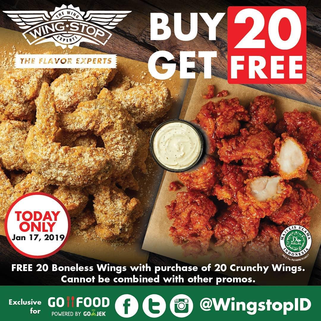 Wingstop Buy 20 Get 20