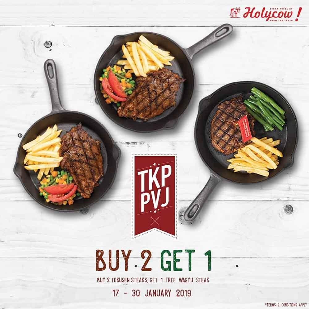 GRATIS 1 Wagyu Steak