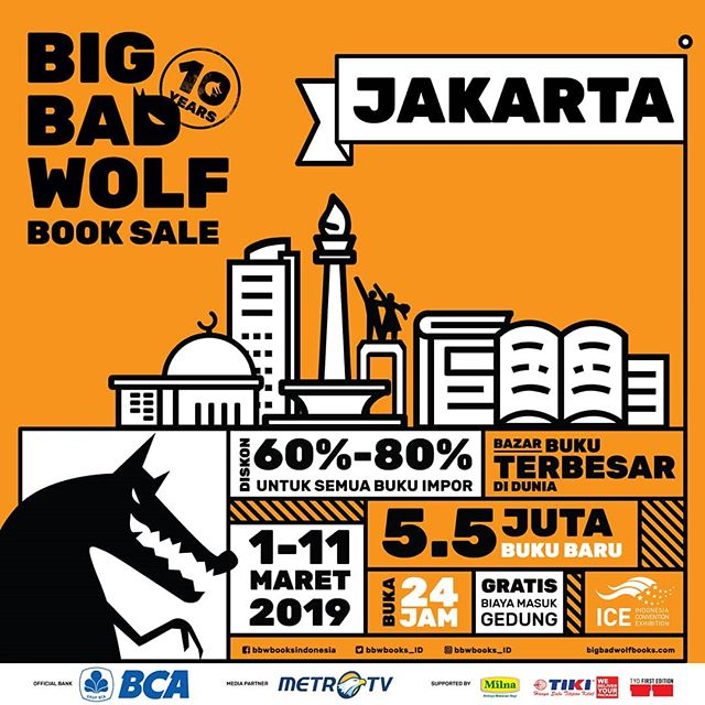 Big Bad Wolf Up to 80% Off