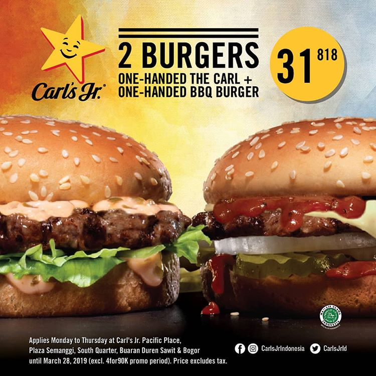 2 Burgers only 31K++