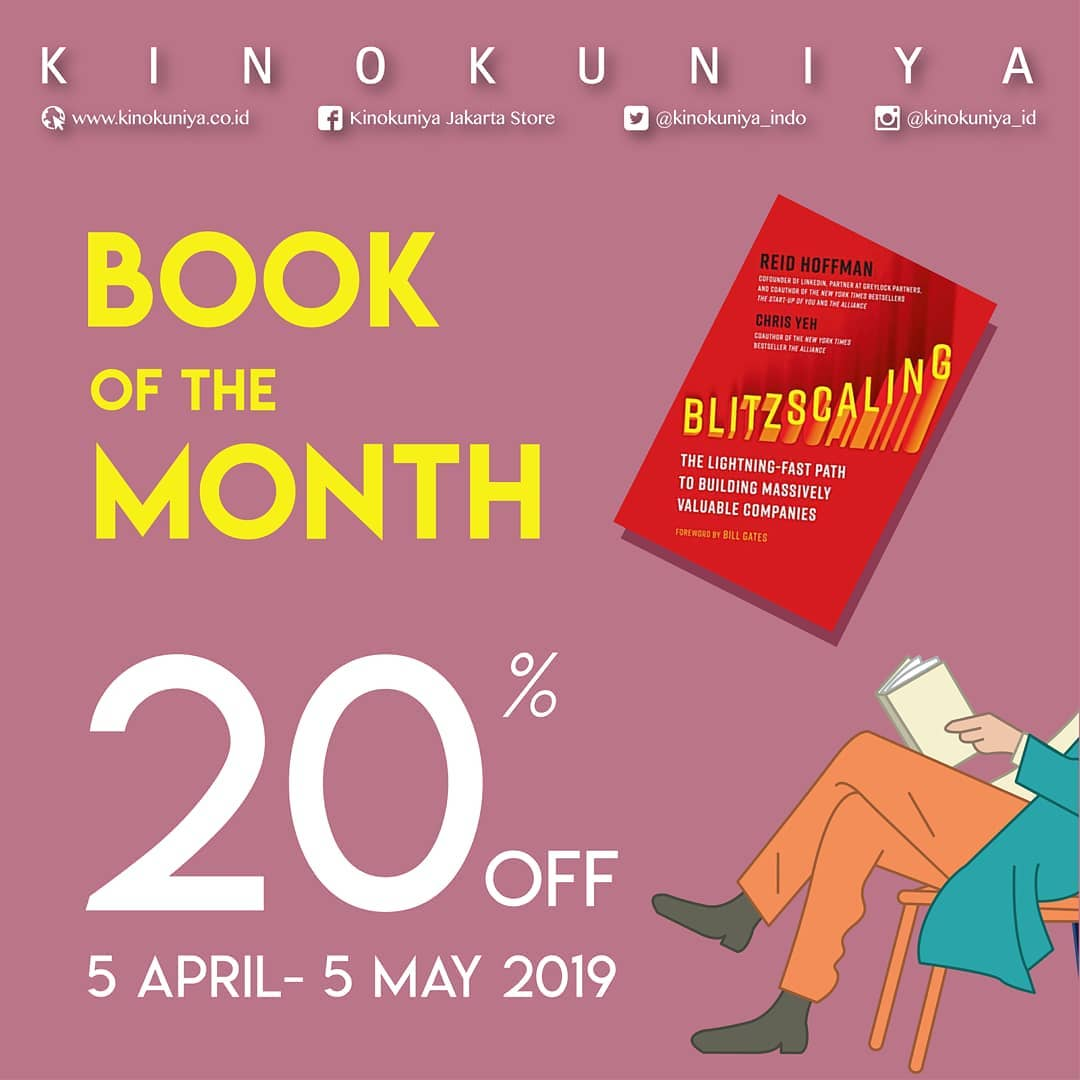 20% Off Book of The Month