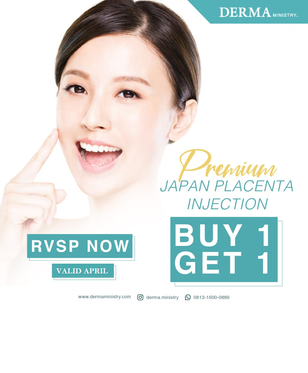 Buy 1 Get 1 Japan Placenta Injection