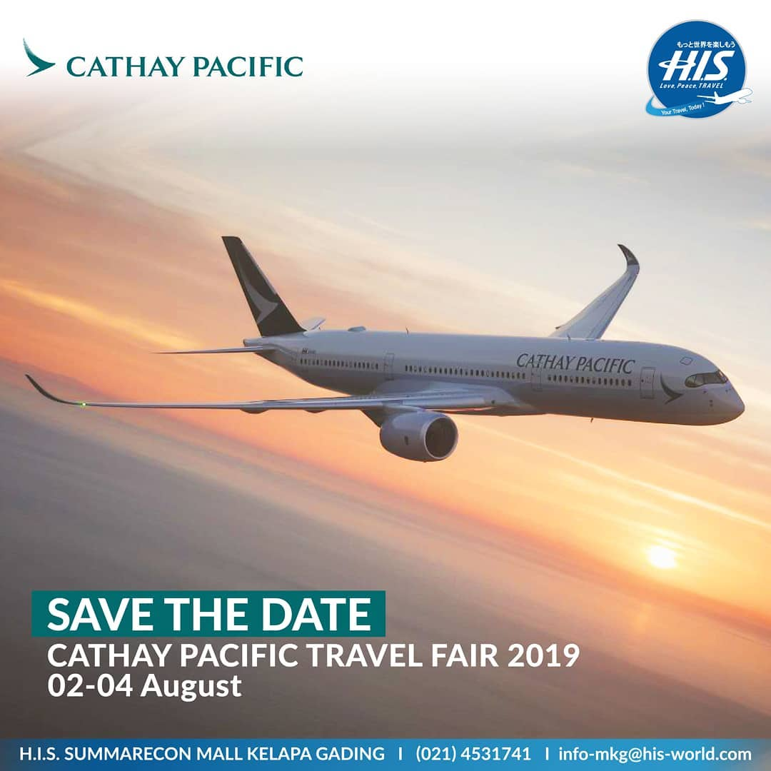 Cathay Pacific Travel Fair 2019