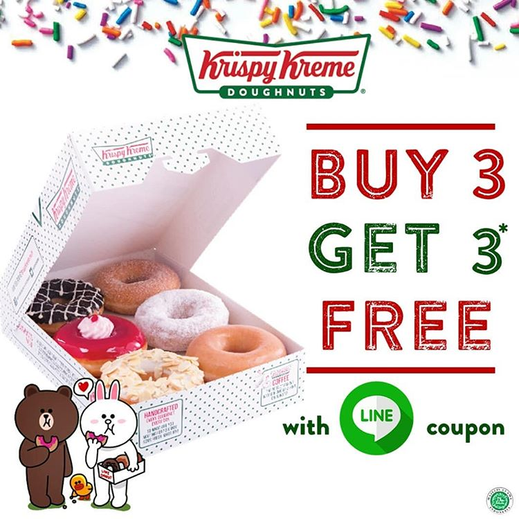 Buy 3 Get 3 Free with LINE