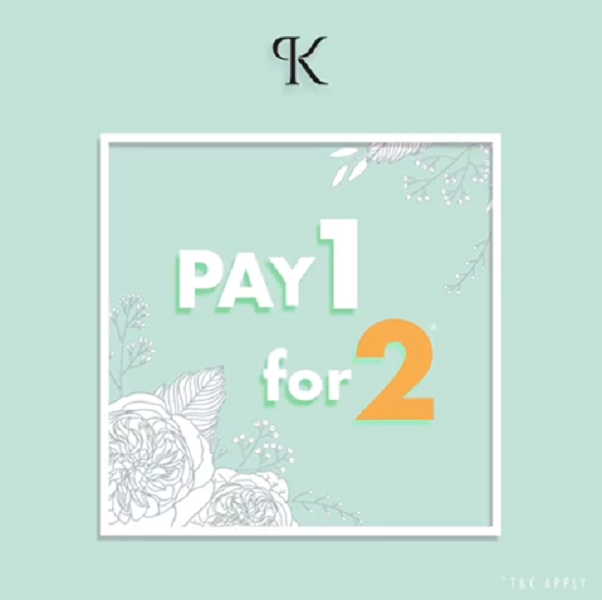 Pay 1 for 2 CLASSIC SILK eyelash extension