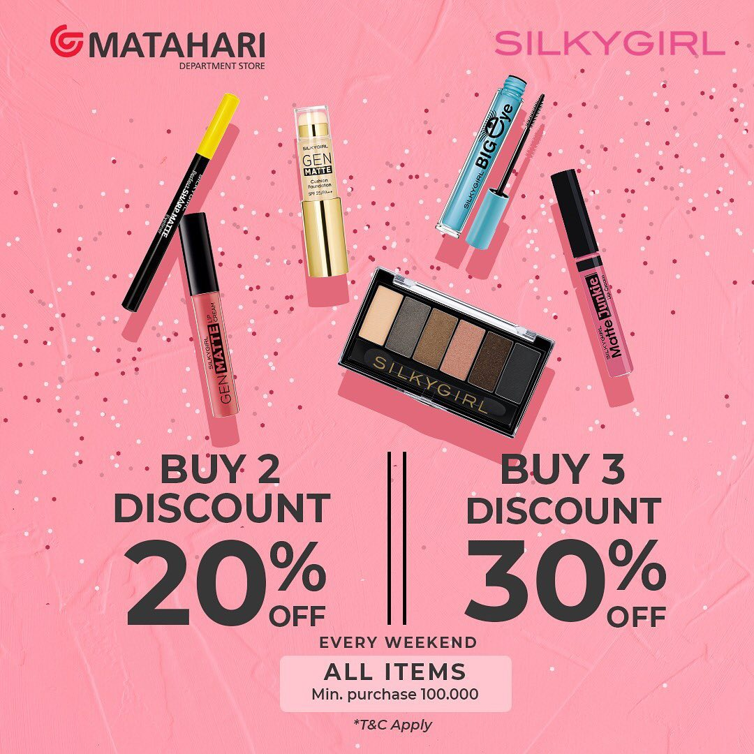 Up To 30% Off Silky Girl Products